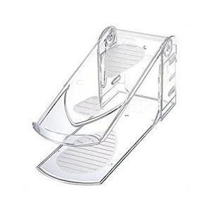 伊勢藤 靴収納ハーフ ハイヒール対応 3段階調節機能付 クリア|n-kitchen