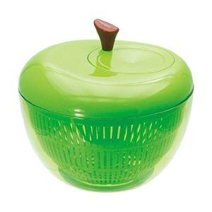 アップルサラダスピナー グリーン 野菜の水切り器 K333-GR 現代百貨 n-kitchen