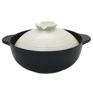 土鍋 6号 宴 1人用 ふきこぼれにくい 19.5cm リビング n-kitchen