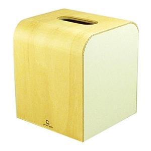 木製 ティッシュボックスケース COLOR MINI ホワイト ヤマト工芸 yamato japan|n-kitchen