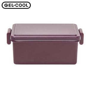 GEL-COOL ランチボックス スクエア L オニオンパープル 400ml 三好製作所 n-kitchen
