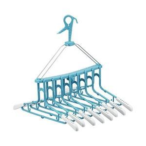 レック 新機能 折りたたみ8連ハンガー スライド W−250|n-kitchen