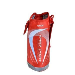 水筒 カバー ボトルケース ポーチ フォルテック ステンレスボトル 1L レッド 2015デザイン 和平フレイズ(WAHEI FREIZ)|n-kitchen