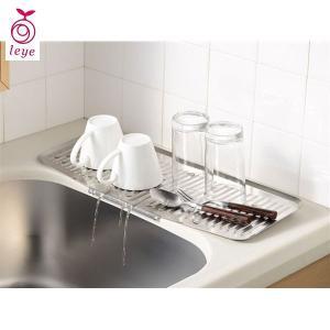 leye 水が切れるちょい置きトレー スリム レイエ LS1540 オークス|n-kitchen