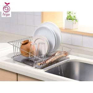 leye 水が流れるステンレス水切りカゴ レイエ LS1541 オークス|n-kitchen