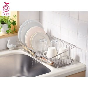 leye 幅18cmに置ける水切りカゴ レイエ LS1542 オークス|n-kitchen