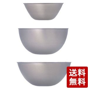 柳宗理 ステンレスボール 19.23.27 3pcs 日本製|n-kitchen