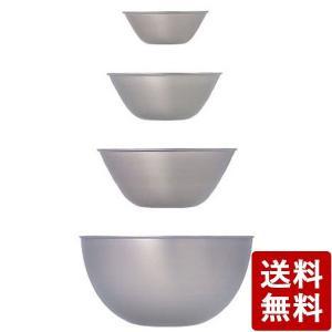 柳宗理 ステンレスボール 13.16.19.23 4pcs 日本製|n-kitchen