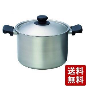 柳宗理 ステンレス・アルミ3層鋼 深型両手鍋 22cm つや消し 日本製|n-kitchen