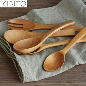 KINTO 木製カトラリー レンゲ 50665 キントー|n-kitchen