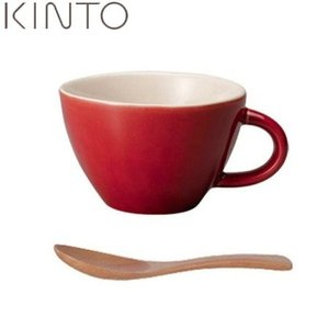 KINTO ほっくり スープカップ  赤 34315 キントー n-kitchen