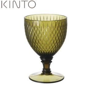 KINTO ROSETTE ワイングラス?グリーン 22829 キントー ロゼット|n-kitchen