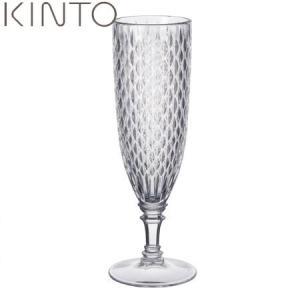 KINTO ROSETTE シャンパングラス クリア 22830 キントー ロゼット|n-kitchen