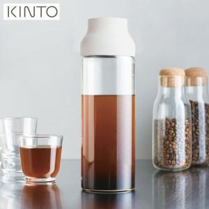 KINTO CAPSULE ウォーターカラフェ 1.0L ホワイト 22971 キントー カプセル|n-kitchen