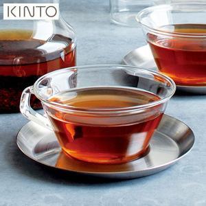 KINTO CAST ティーカップ&ソーサー ステンレス 23086 キントー キャスト|n-kitchen