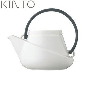 KINTO RIDGE ティーポット 450ml ブラック ストレーナー付 27435 キントー リッジ|n-kitchen