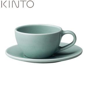 KINTO TOPO カップ&ソーサー ブルー 23591 キントー トポ|n-kitchen