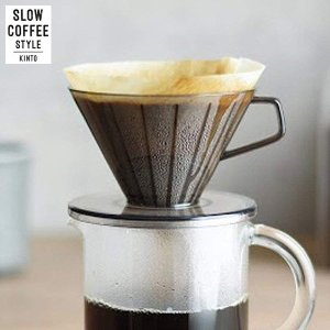 KINTO SLOW COFFEE STYLE ブリューワー 2cups クリアグレー 27649 キントー スローコーヒースタイル|n-kitchen