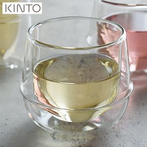 KINTO KRONOS ダブルウォール ワイングラス 23108 キントー クロノス|n-kitchen
