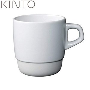 KINTO SLOW COFFEE STYLE スタックマグ ホワイト 27657 キントー スローコーヒースタイル|n-kitchen