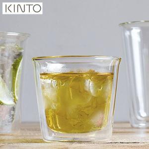 KINTO CAST ダブルウォール ロックグラス クリア 250ml 21430 キントー キャスト|n-kitchen