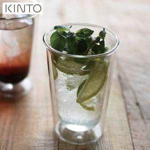 KINTO CAST ダブルウォール カクテルグラス クリア 290ml 21431 キントー キャスト|n-kitchen
