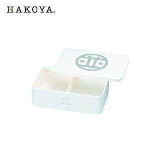 HAKOYA DON ランチボックス 1段 白 並 52983 ハコヤ たつみや n-kitchen