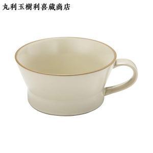 丸利 TAMAKI エッジライン スープカップ ベージュ T-788387|n-kitchen