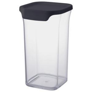 リス 保存容器 リベラリスタ キャニスター トール ネイビーブラック n-kitchen