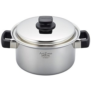 Vita Craft (ビタクラフト) 両手 鍋 アリゾナ 21cm レシピ付 8546|n-kitchen