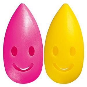 歯ブラシキャップ 「カラースパイス」 ピンク×イエロー マーナ(MARNA)|n-kitchen