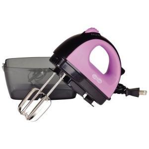 パール金属 ハンドミキサー ララキュート ケース付 ピンク D-1125 n-kitchen