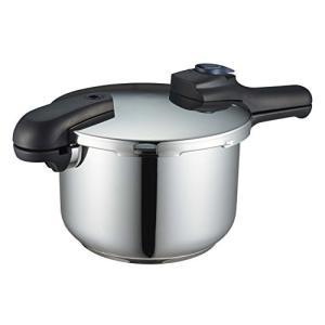 クイックエコ 3層底切り替え式圧力鍋 5.5L H-5042 パール金属(PEARL METAL)|n-kitchen