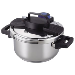 圧力鍋 4.0L IH対応 3層底 ワンタッチレバー H-5388 パール金属(PEARL METAL)|n-kitchen