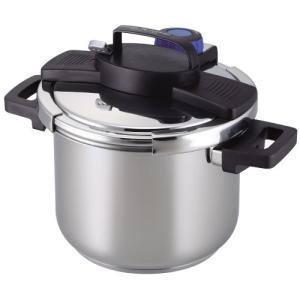 圧力鍋 5.5L IH対応 3層底 ワンタッチレバー H-5389 パール金属(PEARL METAL)|n-kitchen