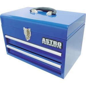 コンパクトツールボックス 2段ベアリング ブルー アストロプロダクツ 2003000004649-1435|n-kitchen