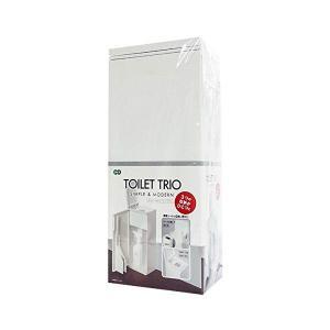 トイレトリオ ホワイト 80830 トイレブラシ ケース付き オーエ