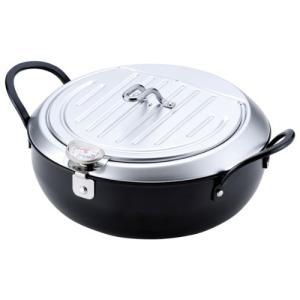 鉄製蓋付天ぷら鍋 24cm IH対応 TM−9090 和平フレイズ|n-kitchen