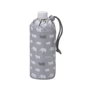 ペットボトルカバー アニマル グレー P−3216 トルネ n-kitchen