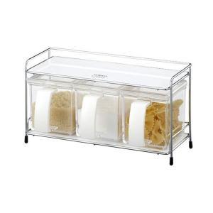 アスベル フォルマ ミニワイヤー 3型 ホワイト A1129 (キッチンラック)|n-kitchen