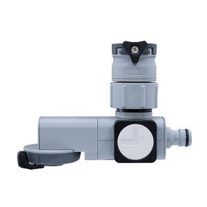 シャワー・ストレートの水形切り替えがレバーで簡単にできます。 横水栓(蛇口径16-18mm)、万能ホ...