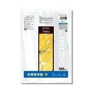 Vimix冷凍保存袋小 半透明 100枚入 厚さ0.01×横200×縦300mm DX-4 ケミカルジャパン|n-kitchen