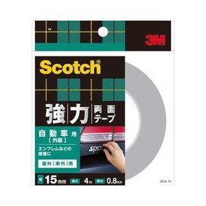 超強力両面テープ自動車 SCA-15 15X4 スリーエムジャパン SX7107|n-kitchen