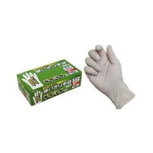ニトリル使いきり手袋 981-100P L ホワイト エステー ST2997|n-kitchen
