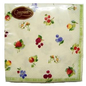 カスパリ(caspari) ペーパーL Summer berries 4710L アームカンパニー|n-kitchen
