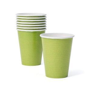 Caspari ペーパーカップ モスグリーン カスパリ CP6017|n-kitchen