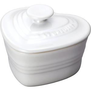 ル クルーゼ ラムカン・ダムール S・フタ付き ホワイトラスター 910031-10-296|n-kitchen