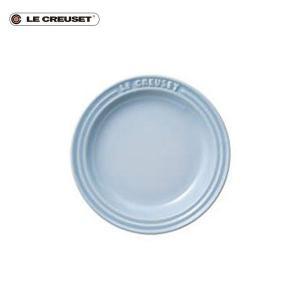ル・クルーゼ ベビー ラウンド・プレート LC 15cm コースタルブルー|n-kitchen