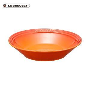 ル・クルーゼ 2019 Simple Cooking シャロー・ディッシュ オレンジ|n-kitchen