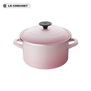 ル・クルーゼ EOS キャセロール 20cm シェルピンク|n-kitchen